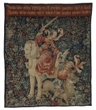 Charity Overcoming Envy Tapestry,...