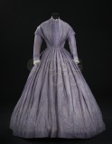 Woman's dress in light purple...