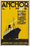 Anchor Line Poster, Anchor Line...