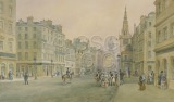 The Trongate, 1849 Busy street...