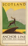 Scotland Anchor Line New York and...