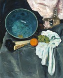 The Green Bowl Still life showing...