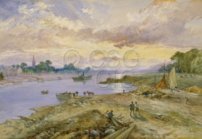 Govan in 1842 Landscape with the...