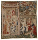 Annunciation and Nativity Wool...