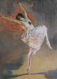 Anna Pavlova Full length portrait...